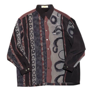バレンシアガ(Balenciaga)の古着 BALENCIAGA バレンシアガ シャツ 長袖シャツ 90s  柄シャツ(シャツ)