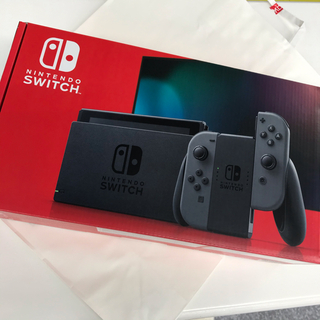 ニンテンドースイッチ(Nintendo Switch)のSwitch 任天堂 スイッチ 本体 グレー ニンテンドウ 新品・未使用・未開封(家庭用ゲーム機本体)