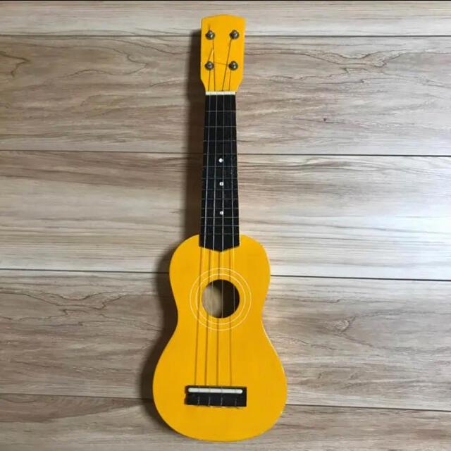 ウクレレ イエロー 楽器のウクレレ(その他)の商品写真