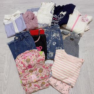 女の子 夏服 まとめ売り 90 95(Tシャツ/カットソー)
