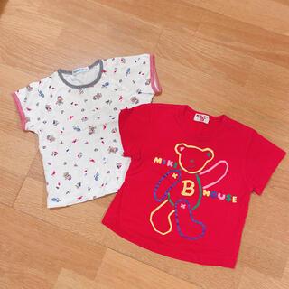 ミキハウス(mikihouse)のTシャツ80(Tシャツ)