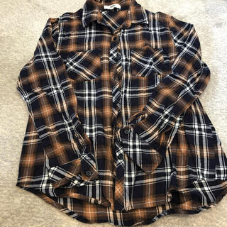 オゾック(OZOC)のOZOC チェックシャツ サイズ38(シャツ/ブラウス(長袖/七分))