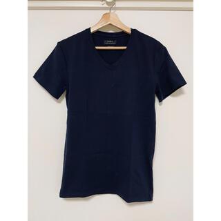 ザラ(ZARA)のZARA ネイビーTシャツ(Tシャツ/カットソー(半袖/袖なし))
