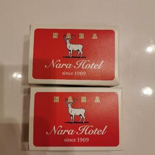 ギュウニュウセッケン(牛乳石鹸)の奈良ホテル限定 牛乳石鹸2個(ボディソープ/石鹸)