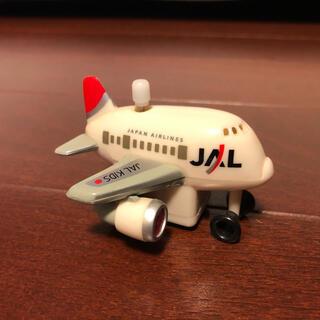 JAL 日本航空 飛行機  移動 ぜんまい仕掛け 旧ロゴ レア(航空機)