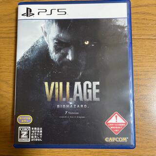 バイオハザード ヴィレッジ Z Version PS5(家庭用ゲームソフト)