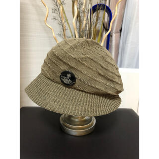 Vivienne Westwood - 【極美品】ヴィヴィアン  帽子 夏物