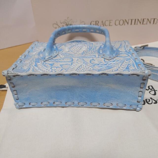 GRACE CONTINENTAL(グレースコンチネンタル)の新品タグつきグレースコンチネンタルカービングバッグ ミニマエストラ 新作 レディースのバッグ(ショルダーバッグ)の商品写真