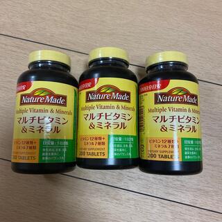 ネイチャーメイドマルチビタミン&ミネラル(ビタミン)