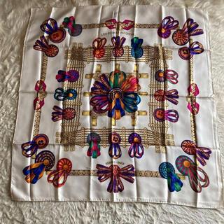 エルメス(Hermes)のエルメススカーフ カレ90 馬のリボン飾り(バンダナ/スカーフ)