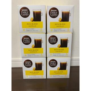 ネスレ(Nestle)のネスカフェドルチェグスト専用カプセル「リッチブレンド」6箱セット(コーヒー)