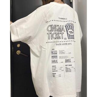 ワンウェイ(one*way)の one way   ロンT&リフレクターロゴTワンピース 新品(Tシャツ(半袖/袖なし))