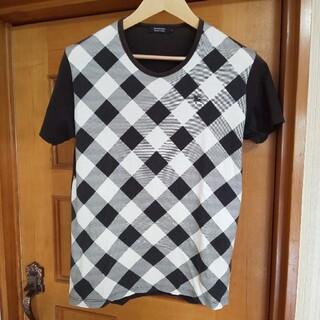 BURBERRY BLACK LABEL - BURBERRY BLACK LABEL Tシャツ 3 L ホースロゴ 日本製