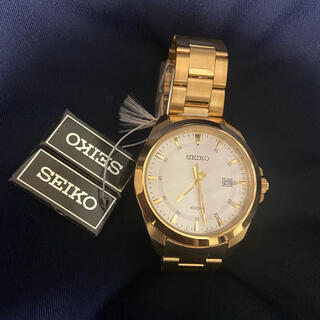 SEIKO - seiko腕時計正規品新品sur212金色ゴールドウォッチカシオG-SHOCK