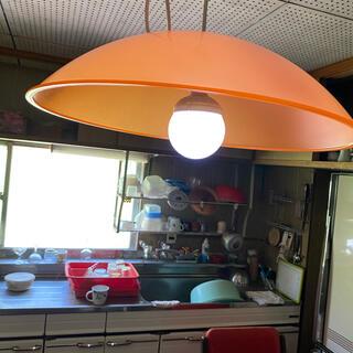 レトロ電気傘(天井照明)