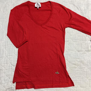 ヴィヴィアンウエストウッド(Vivienne Westwood)のVivienne Westwood 七分袖 Tシャツ S(Tシャツ(長袖/七分))