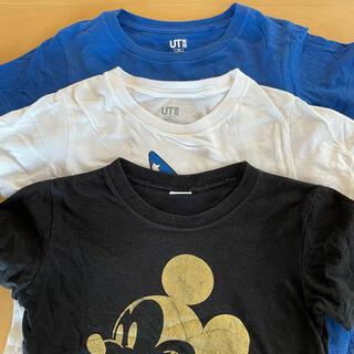 ディズニー(Disney)のミッキー Tシャツ 3着セット 110(Tシャツ/カットソー)