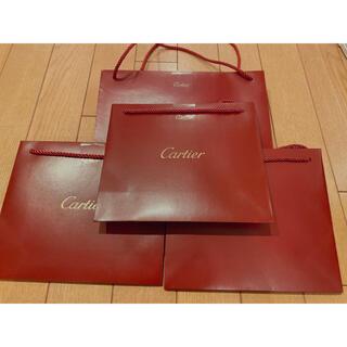 カルティエ(Cartier)のカルティエ Cartier ショッパー 紙袋 ギフト(ショップ袋)