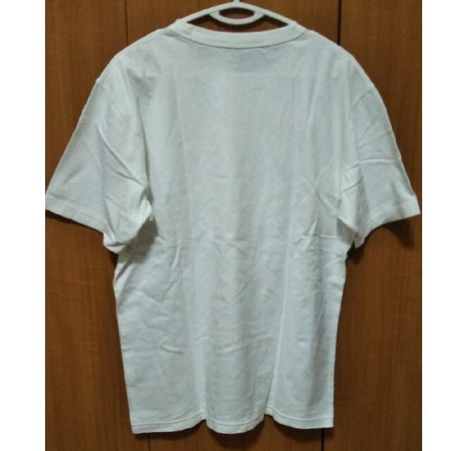 UNIQLO(ユニクロ)のUNIQLO U クルーネックTシャツ White メンズ Lサイズ 新品 メンズのトップス(Tシャツ/カットソー(半袖/袖なし))の商品写真