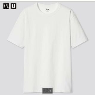 UNIQLO - UNIQLO U クルーネックTシャツ White メンズ Lサイズ 新品