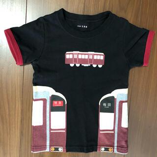 ブランシェス(Branshes)のブランシェス 阪急車両デザインTシャツ 100cm(Tシャツ/カットソー)