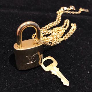 LOUIS VUITTON - ルイヴィトン パドロック ネックレス 南京錠カギあり