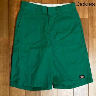 Dickies - 美品【複数割】ディッキーズ Dickies ハーフパンツ 緑 ルーズフィット L