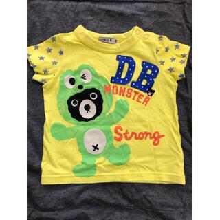 ダブルビー(DOUBLE.B)のダブルビー Tシャツ 半袖 70サイズ B品(Tシャツ)