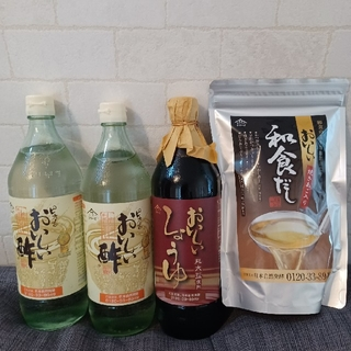 ピュアのおいしいシリーズ4点セット   日本自然発酵(調味料)