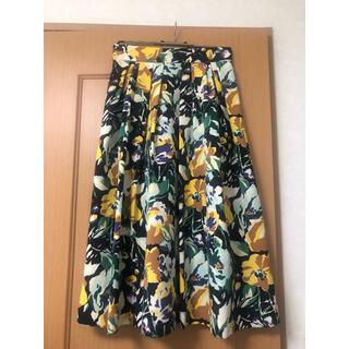 トゥモローランド(TOMORROWLAND)のトゥモローランド スカート②  36(ロングスカート)