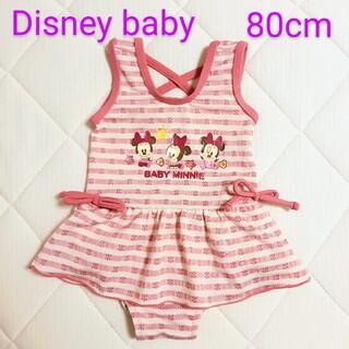 ディズニー(Disney)のDisney baby 80cm 水着 ワンピース 女の子用 ディズニーベビー(水着)