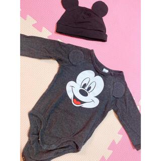 エイチアンドエイチ(H&H)のH&M Disney エイチアンドエム ディズニー ロンパース 60cm(ロンパース)