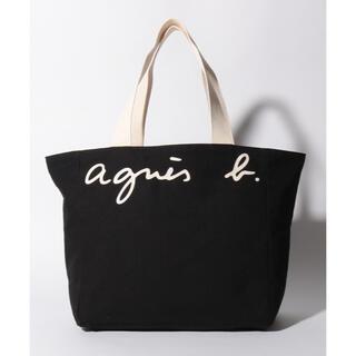 agnes b. - agnes b キャンバス トートバッグ リバーシブル 新品未使用タグ付き