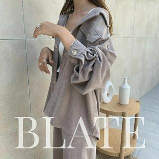 BLATE ユニセックス ラフジャケット