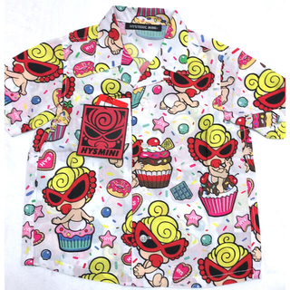 HYSTERIC MINI - 新品タグ付★ヒステリックミニ スイーツ柄 半袖シャツ 105 ヒスミニ
