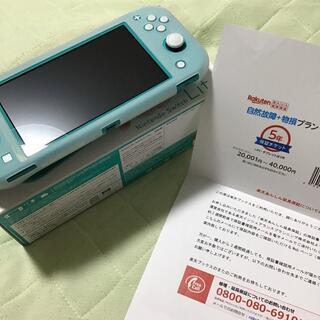 Nintendo Switch - 任天堂スイッチ、中古、ターコイズ、保証入り