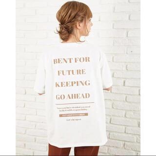 INGNI - 新品 イング バックロゴTシャツ ♡