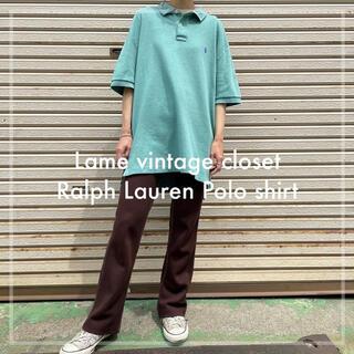 POLO RALPH LAUREN - 古着 ラルフローレン 刺繍 ポロシャツ Tシャツ ワンポイント ビンテージ