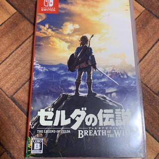 ニンテンドウ(任天堂)のゼルダの伝説 ブレス オブ ザ ワイルド Switch 中古(家庭用ゲームソフト)