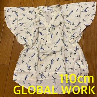 GLOBAL WORK - GLOBALWORK グローバルワーク キッズ トップス 半袖 花柄
