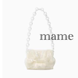 mame - mame Transparent Sculptural MiniChainBag