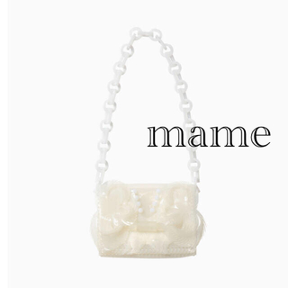 マメ(mame)のmame Transparent Sculptural MiniChainBag(ショルダーバッグ)
