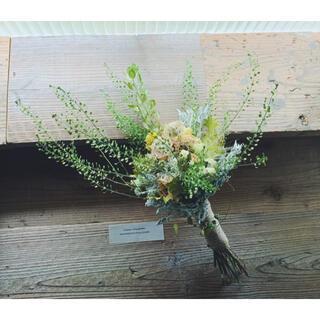 シャンペトルブーケ Aw ピスタチオ&クリーム greenery bouquet(ブーケ)