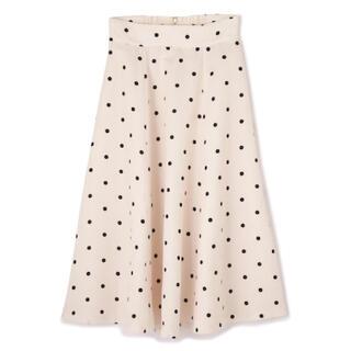 PROPORTION BODY DRESSING - ♡ドットフレアスカート♡