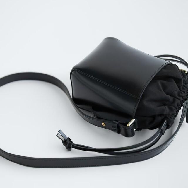 ZARA(ザラ)のZARA 新品 ミニリアルレザーバッグ レザーバッグ リアルレザー 牛革 レディースのバッグ(ショルダーバッグ)の商品写真