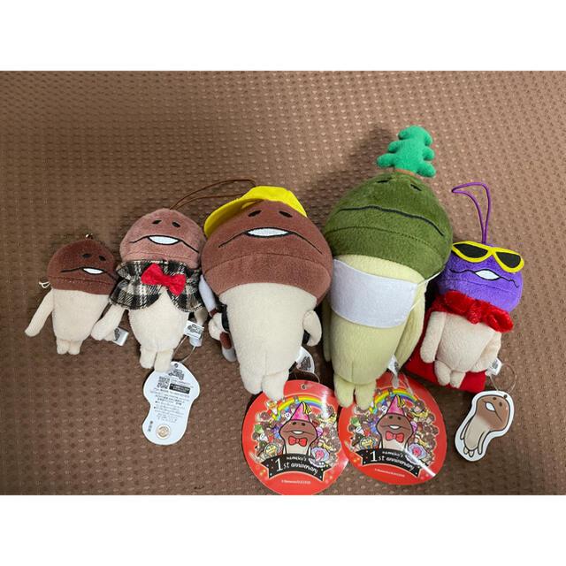 なめこ ぬいぐるみ エンタメ/ホビーのおもちゃ/ぬいぐるみ(キャラクターグッズ)の商品写真