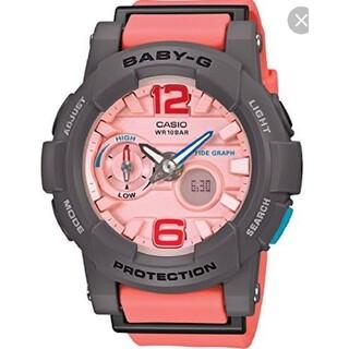 ベビージー(Baby-G)のCASIO Baby-G G-LIDE タイドグラフ 温度計測 新品未使用 レア(腕時計)