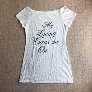 マーキュリーデュオ(MERCURYDUO)のマーキュリーデュオ 半袖 ロゴT  F(Tシャツ(半袖/袖なし))