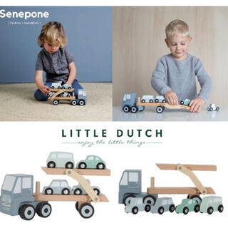 Little dutch リトルダッチ キャリアカー 木製
