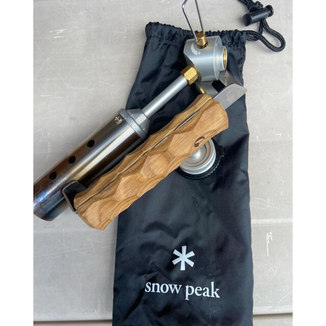 Snow Peak(スノーピーク)のsnowpeak フォールディングトーチ スポーツ/アウトドアのアウトドア(ストーブ/コンロ)の商品写真
